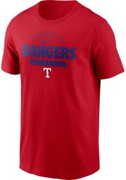 Texas Rangers Nike Property Of T Shirt - Red