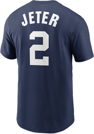 New York Yankees Nike Name And Number Player T Shirt - Navy Blue