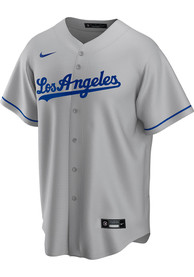 Los Angeles Dodgers Nike Road Replica Replica - Grey