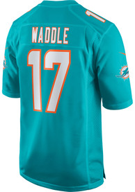 Jaylen Waddle Miami Dolphins Nike Home Game Football Jersey - Teal