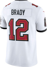 Tom Brady Tampa Bay Buccaneers Nike Road Limited Football Jersey - White