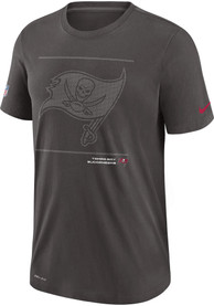 Tampa Bay Buccaneers Nike DFCT Team Issue T Shirt - Grey