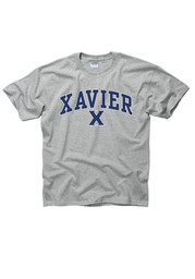 Xavier Musketeers Youth Grey Arch Mascot T-Shirt