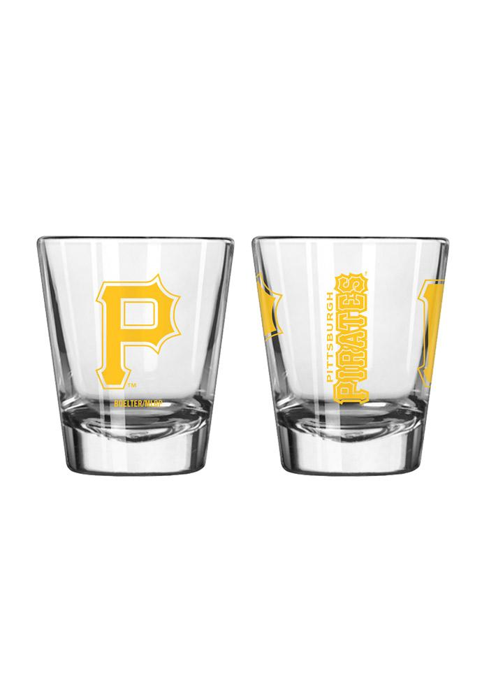 Pittsburgh Pirates 2oz Clear Shot Glass 10160461