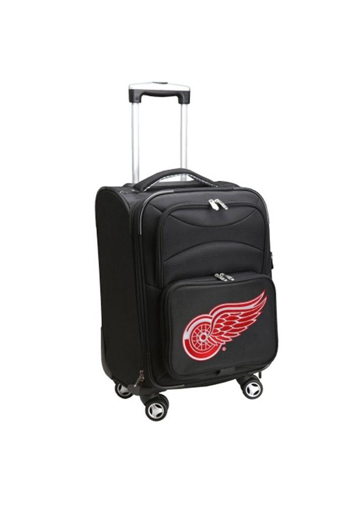 Detroit Red Wings Black 20in Carry-On Luggage - Image 1