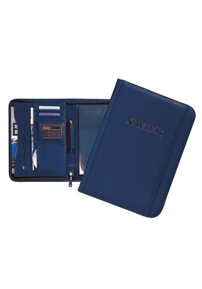 Xavier Musketeers Zipper Student Pad Holder Mens Business Accessories - Image 1
