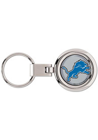 Detroit Lions Domed Keychain