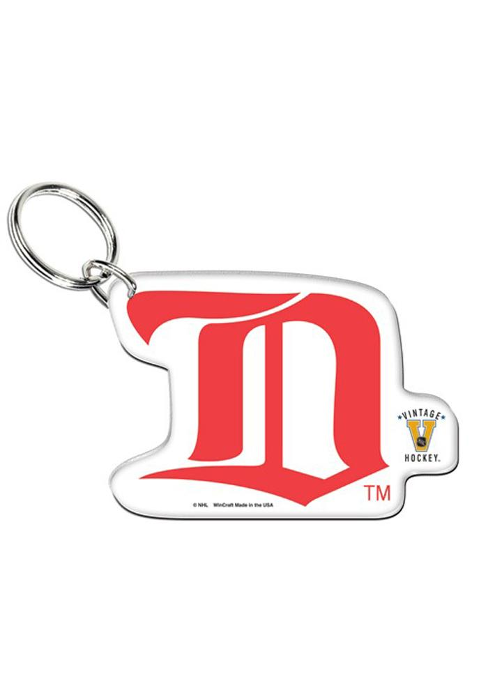 Detroit Red Wings Vintage Premium Acrylic Keychain - Image 1
