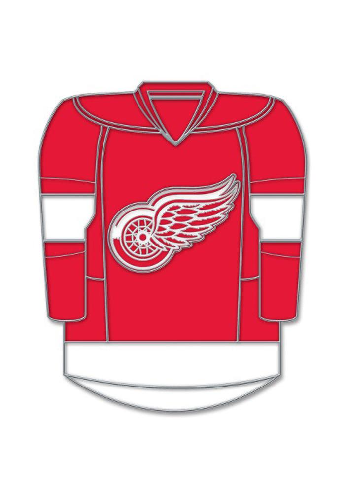 Detroit Red Wings Souvenir Jersey Pin - Image 1