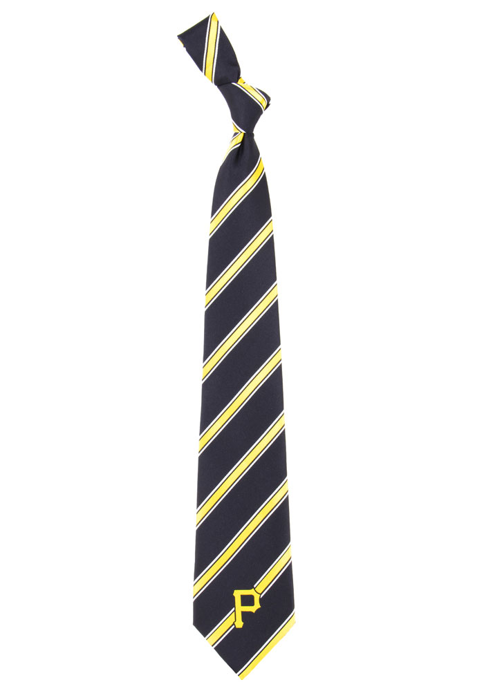 Pittsburgh Pirates Woven Poly Mens Tie - Image 1