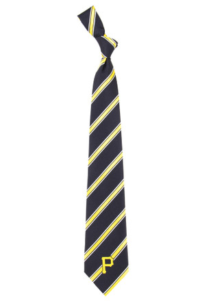 Pittsburgh Pirates Woven Poly Tie