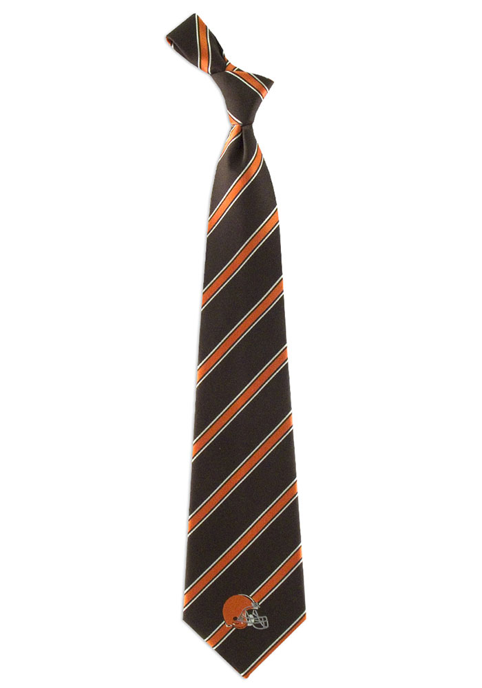 Cleveland Browns Poly Woven Mens Tie - Image 1