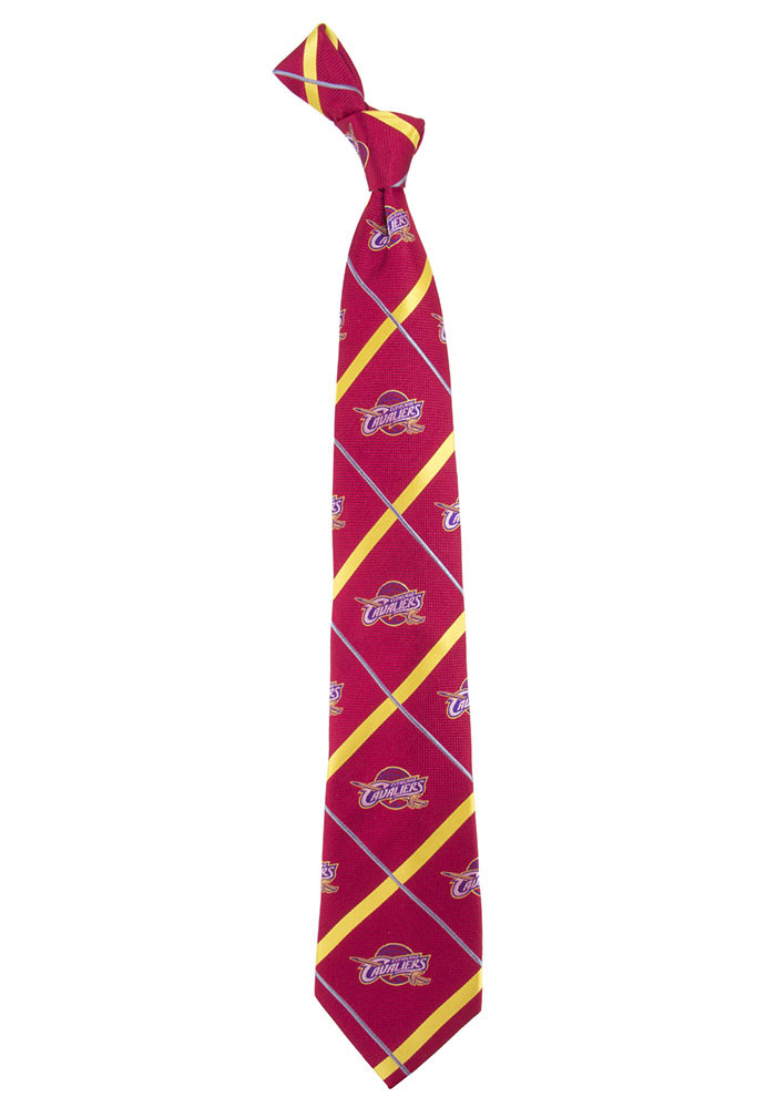 Cleveland Cavaliers Silver Line Mens Tie - Image 1