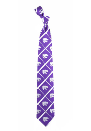 K-State Wildcats Silver Line Tie