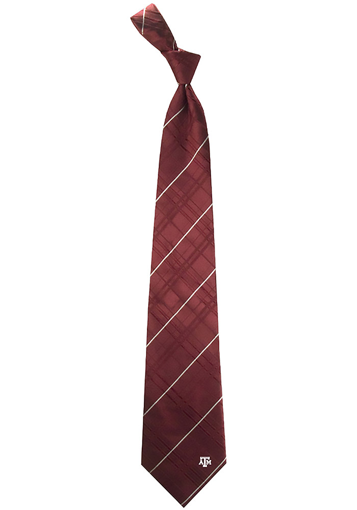 Texas A&M Aggies Oxford Mens Tie - Image 1