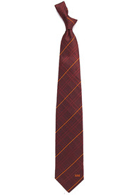 Cleveland Browns Oxford Woven Tie - Brown