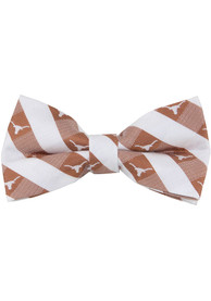 Texas Longhorns Check Tie - Burnt Orange