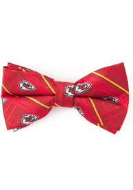 Kansas City Chiefs Oxford Woven Tie - Red