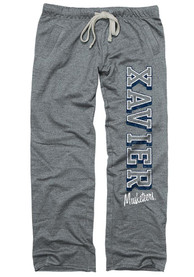Xavier Musketeers Womens Grey Sweatpants