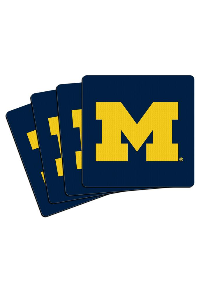 Michigan Wolverines Neoprene 4pk Coaster - Image 3