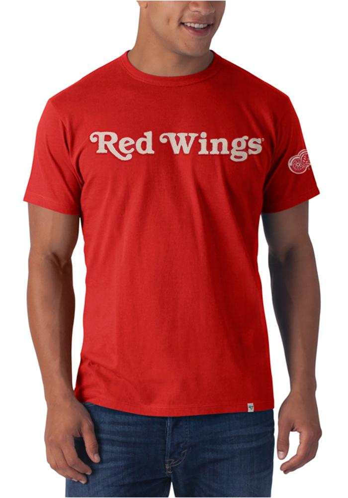 47 Detroit Red Wings Red Fieldhouse Short Sleeve Fashion T Shirt - Image 1