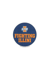 Illinois Fighting Illini 3 Inch Button