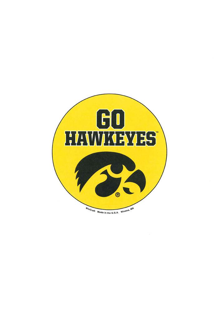 Iowa Hawkeyes 3 Inch Button - Image 1