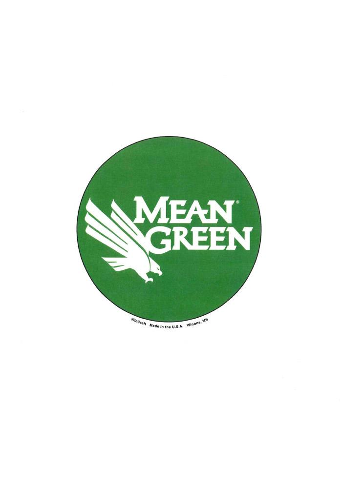 North Texas Mean Green 3 Inch Button - Image 1