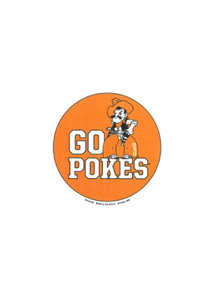 Oklahoma State Cowboys 3 Inch Button