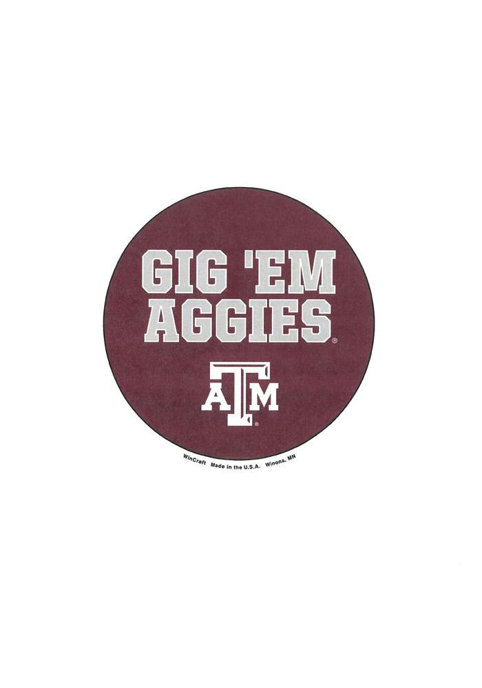 Texas A&M Aggies 3 Inch Button - Image 1