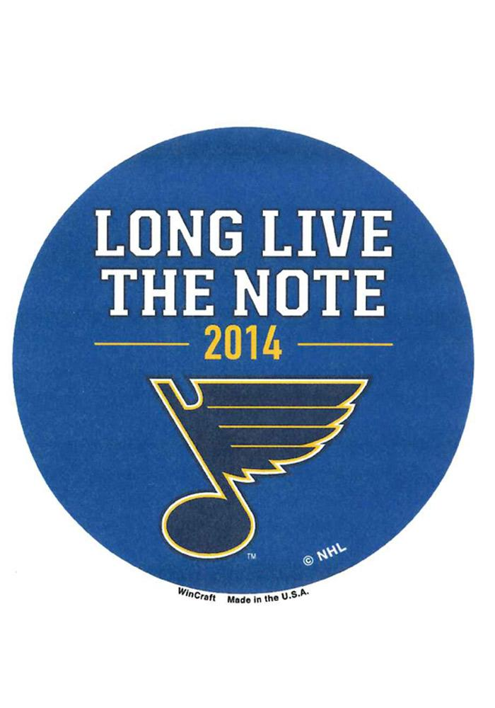 St Louis Blues 3 Inch Button - Image 1