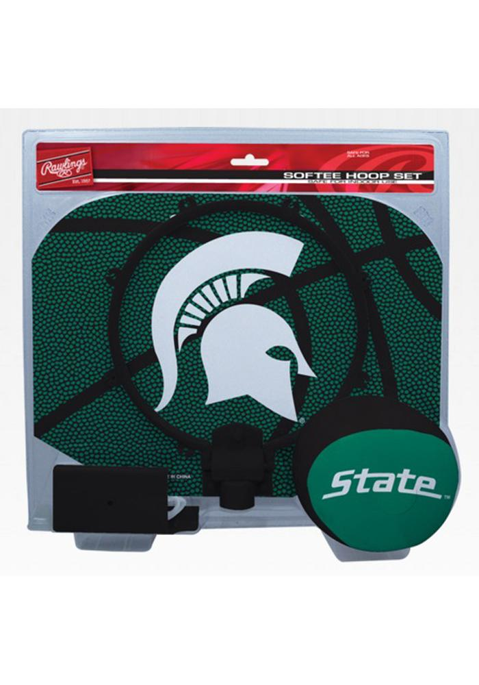 Michigan State Spartans Slam Dunk Hoopset Softee Ball - Image 1