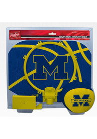 Michigan Wolverines Slam Dunk Hoopset Basketball Set