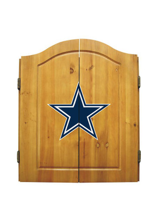 Dallas Cowboys Team Logo Dart Board Cabinet