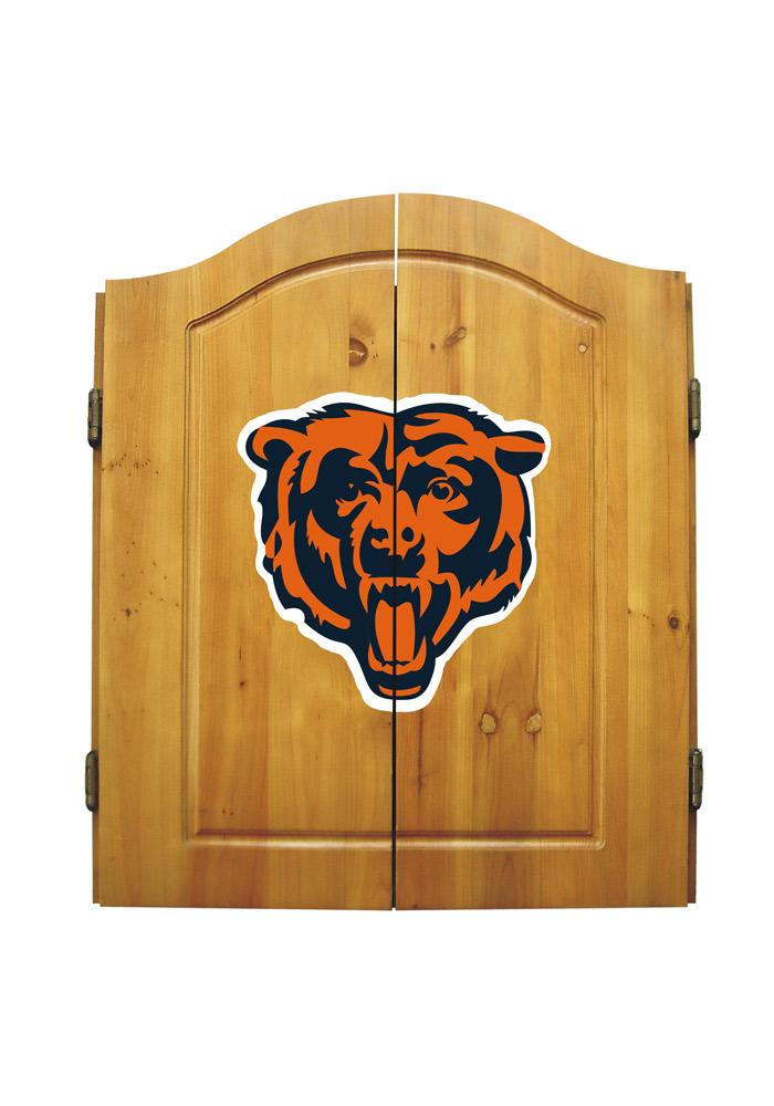 Chicago Bears Team Logo Dart Board Cabinet - Image 1