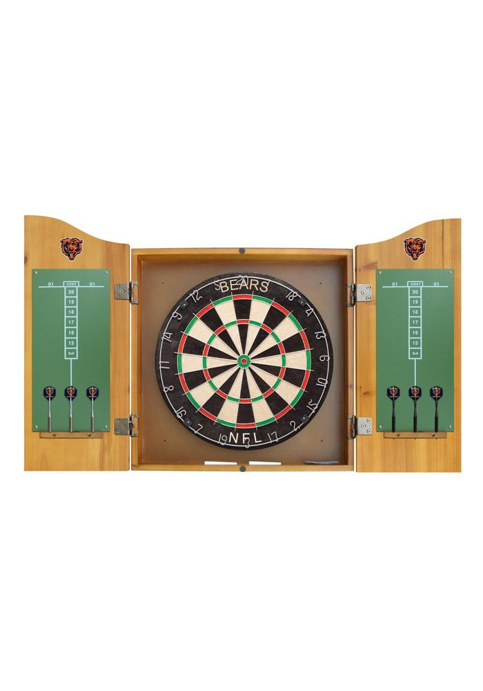 Chicago Bears Team Logo Dart Board Cabinet - Image 3