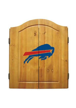 Buffalo Bills Team Logo Dart Board Cabinet