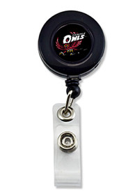 Temple Owls retractable Badge Holder