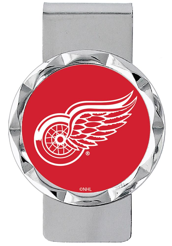 Detroit Red Wings Classic Mens Money Clip - Image 1