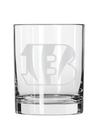 Cincinnati Bengals 14oz Rock Glass
