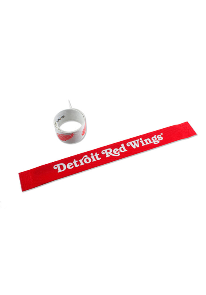 Detroit Red Wings 2 Pack Slap Kids Bracelet - Image 1