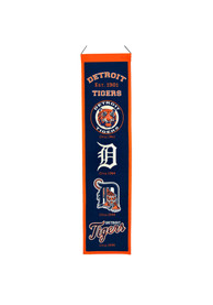 Detroit Tigers 8x32 Heritage Banner