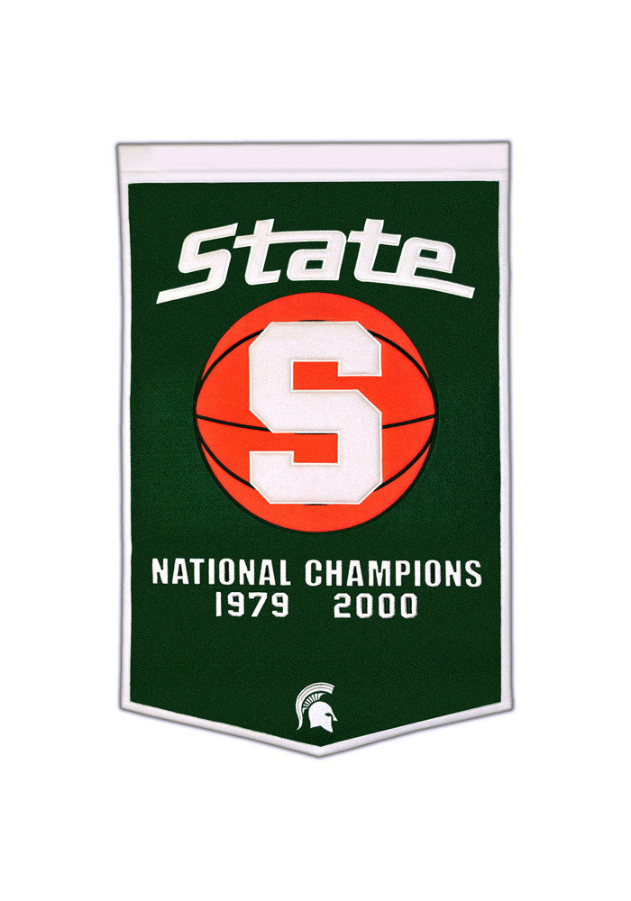 Michigan State Spartans 24x38 Dynasty Banner - Image 1