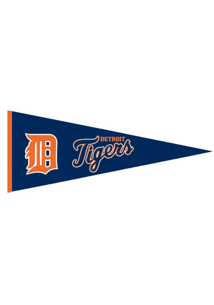 Detroit Tigers 13x32 Tradition Medium Pennant - Image 1
