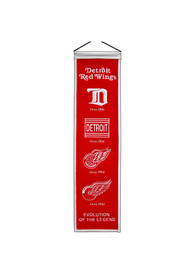 Detroit Red Wings 8x32 Heritage Banner