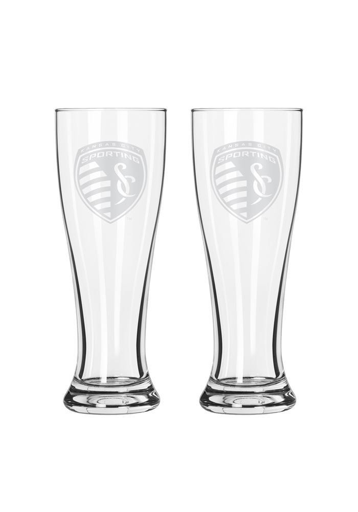 Sporting Kansas City 16oz Clear Pilsner Glass - Image 2