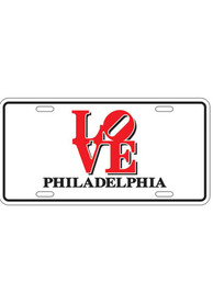 Love Philly Car Accessory License Plate