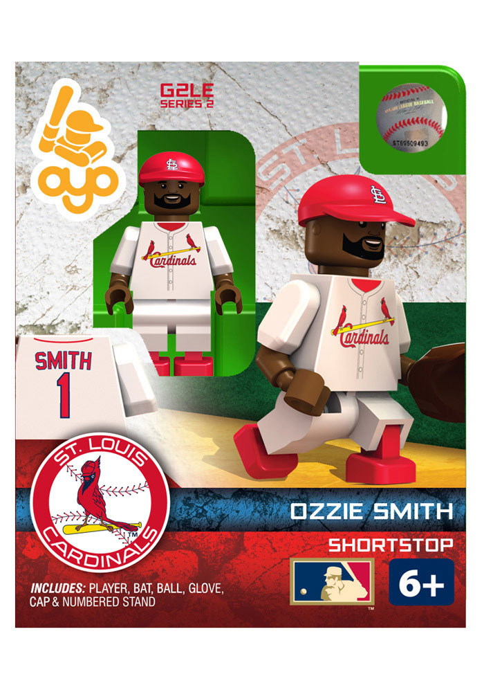 St Louis Cardinals Ozzie Smith Ozzie Smith Hall of Fame Gen 2 Collectible Player Oyo - Image 1