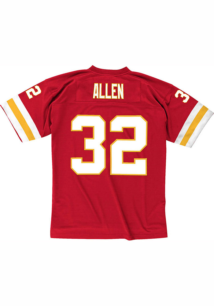 Marcus Allen Mitchell and Ness Kansas City Chiefs Mens Red 1994 Replica Football Jersey - Image 1