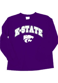 K-State Wildcats Toddler Purple Arch T-Shirt